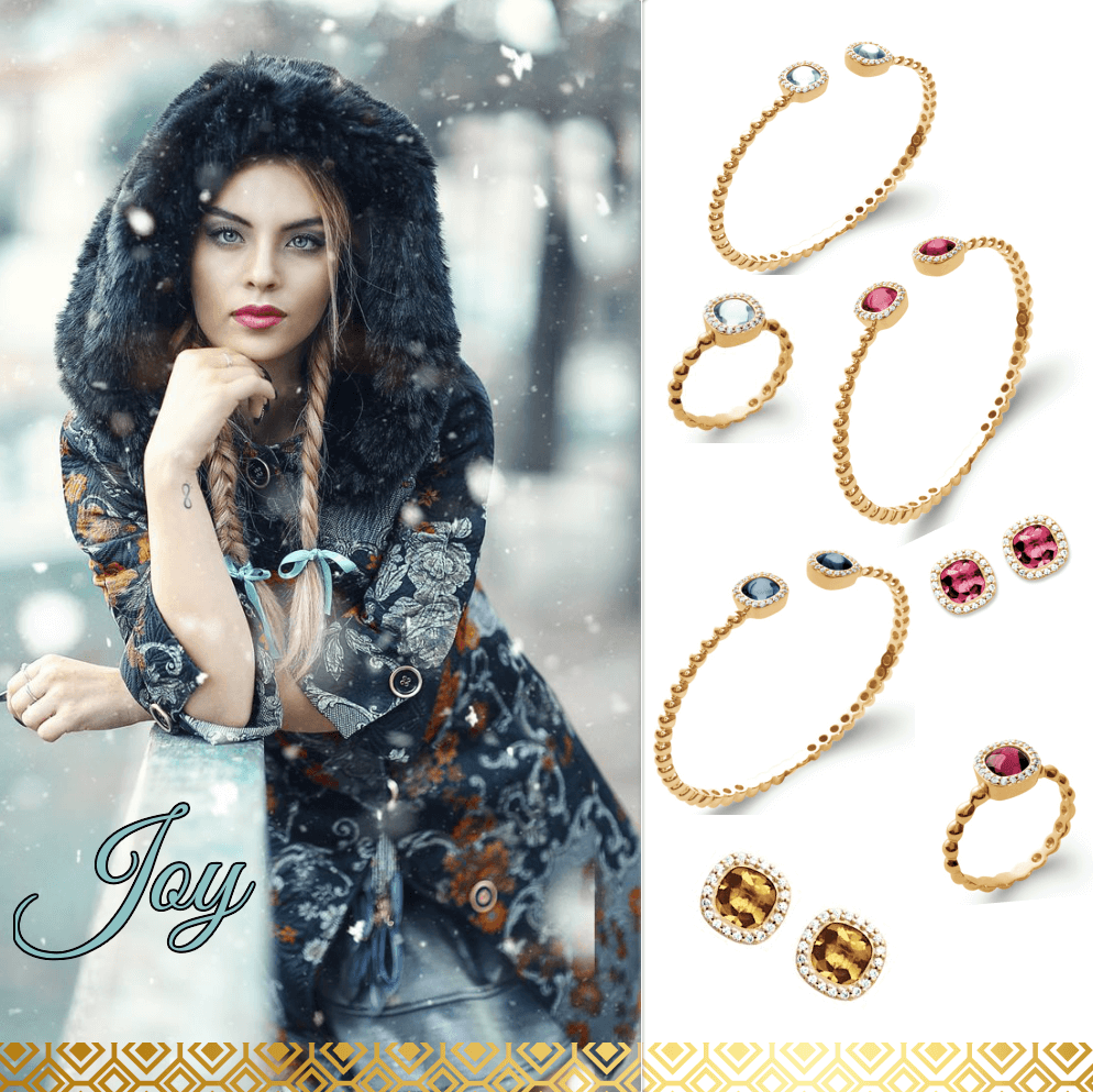 ligne de bijoux Joy collection zanzybar